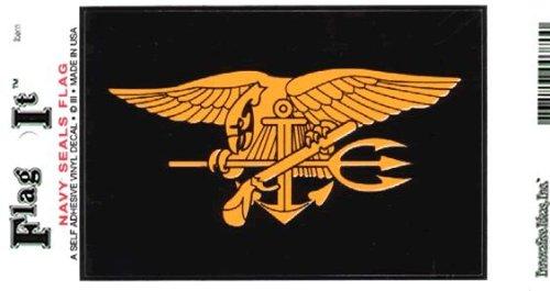 Navy Seals Heavy Duty Vinyl Bumper Sticker (3 x 5 Inches)