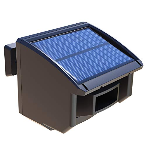 Extra Solar Wireless Weatherproof Outdoor Motion Sensor for HTZSAFE Driveway Alarm(The Sensor Eye with The Cover)