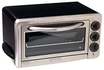 KitchenAid KCO1005OB 1/2 Cubic Foot 6 Slice Countertop Oven, Onyx