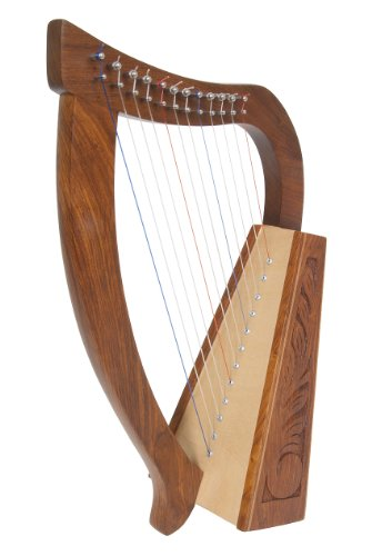 Roosebeck Baby Harp TM, Birch, 12 Strings
