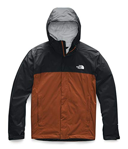 (The North Face Men's Venture 2 Jacket, Picante Red/TNF Black, M)