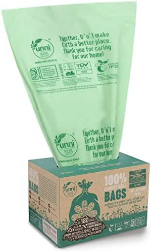 Trash Bags: UNNI Compostable Bags