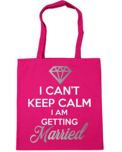 am can't I I getting keep x38cm litres HippoWarehouse 42cm Bag Beach Gym 10 married calm Shopping Tote Fuchsia gXFBqSw