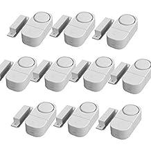 Mosuch Wireless Home Door Window Burglar Safety Security Alarm System Magnetic Sensor Pack 10