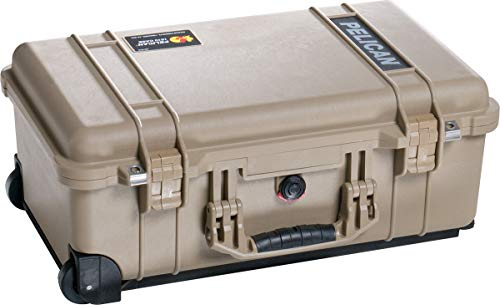 Foam Luggage Tag - Pelican 1510 Case With Foam (Desert Tan)