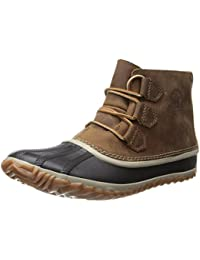 Women's N About Leather Rain Snow Boot