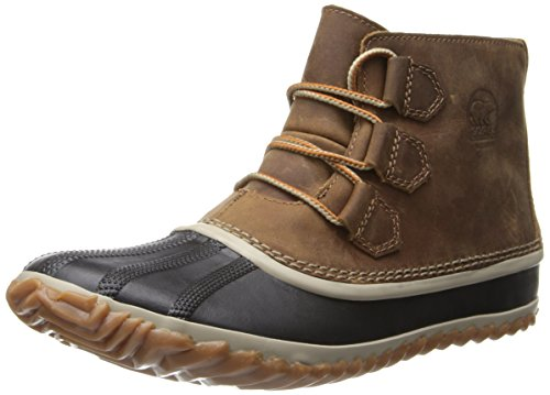 Women's Sorel 'Out N About' Leather Boot, Size 8 M - Brown