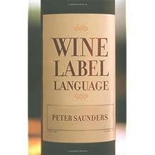 Wine Label Language