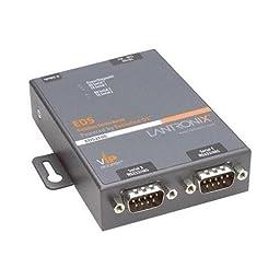 Lantronix EDS2100 2-Port Secure Device Server - NEW - Retail - ED2100002-01
