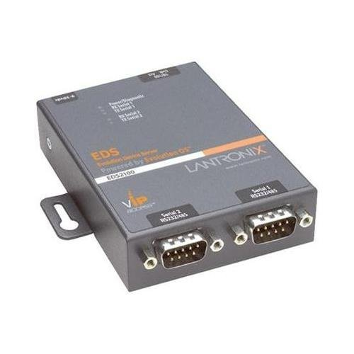 Lantronix EDS2100 2-Port Secure Device Server - NEW - Retail - ED2100002-01 by Lantronix