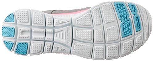 SkechersFlex AppealAdaptable - pantufla Mujer Gris (GYNP)