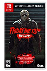 Friday the 13th: The Game Ultimate Slasher Edition arrives on the Nintendo Switch! The Switch offers a unique experience, in both social settings and on the go! Friday the 13th: The Game Ultimate Slasher Edition comes equipped with the game, ...