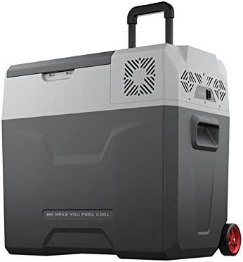 50L coche pequeño refrigerador / coche de casa de doble uso ...