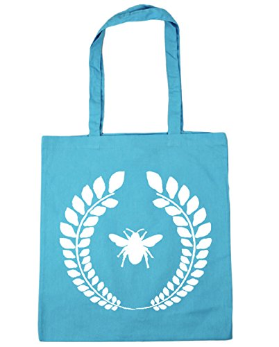 42cm litres Blue Tote Bag Gym Beach Bumble Shopping Surf reef x38cm HippoWarehouse 10 bee nRxOUPwqx8