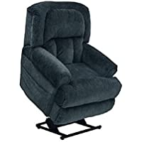 4847-23 (Element) Catnapper Burns Power Lift Chair & Recliner-Rated for 400 lbs. Extended Dual Motor Lift Chair. Controls Back and Ottoman Separately. Lay Flat Recliner. Free Curbside Delivery.