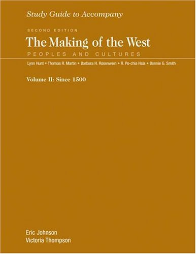 Study Guide for The Making of the West, Volume 2