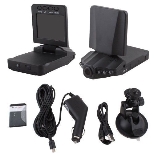 Aketek 2.5-Inch HD Rotatable LED IR DVR Video Camcorder with Camera Holder