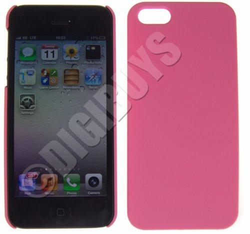 Carcasa Trasera de plástico para iPhone 5 y 5S, Color Rosa ...