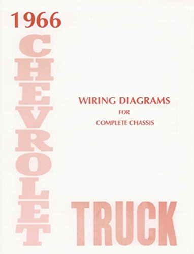 Oem Electrical Wiring Diagram (bishko automotive literature 1966 Chevrolet Truck Electrical Wiring Diagrams Schematics Mechanic OEM Book)