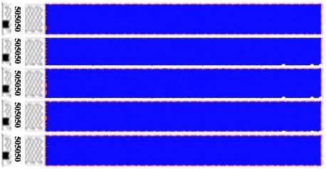 Einlassbänder / Kontrollbänder / Eintrittsbänder aus Tyvek, 1000 Stück, Neon Blau