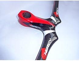 Manillar (Rojo , Carbono total)  - Otro - Ciclismo/Bicicleta de ...