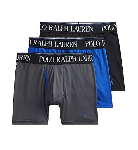 Polo Ralph Lauren 3-Pack 4D-Flex Cool Microfiber Boxer Briefs