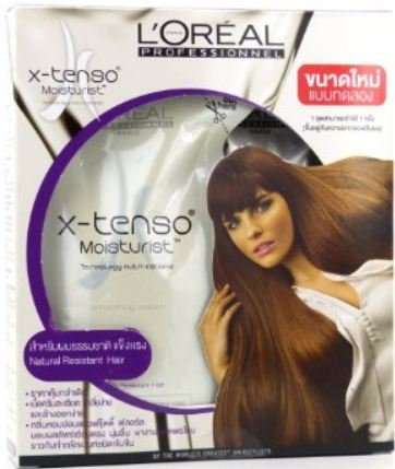 L'Oreal X-tenso Straightener Cream Straightening Hair for...