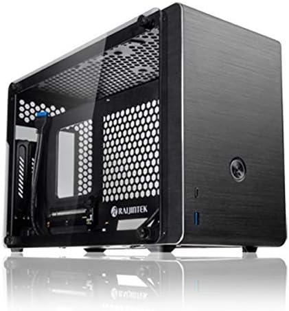 RAIJINTEK Ophion Carcasa de Ordenador Mini-Tower Negro - Caja de Ordenador (Mini-Tower, PC, Aluminio, Vidrio Templado, Mini-ITX, Negro, Juego): Amazon.es: Informática