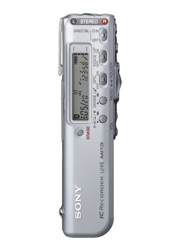 Sony ICDSX46-128MB Digital Voice Recorder w/ MP3 Playback