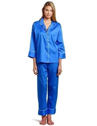 Natori Women's Essence Pajama Set, Perse Blue, X-Small