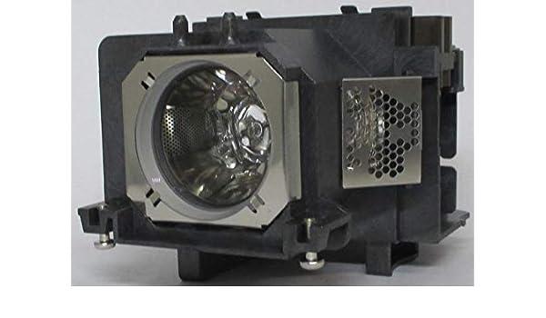 Panasonic PT-VZ570 Projector Housing with Genuine Original OEM Bulb