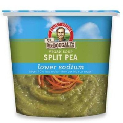 Dr. Mcdougall's Split Pea Soup Ls GF 6x 1.9OZ