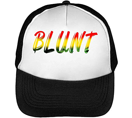 Hombre Negro Blanco Gorras Fashioned Colour Snapback Ethiopia Flag Blunt Beisbol P6T84OPXa