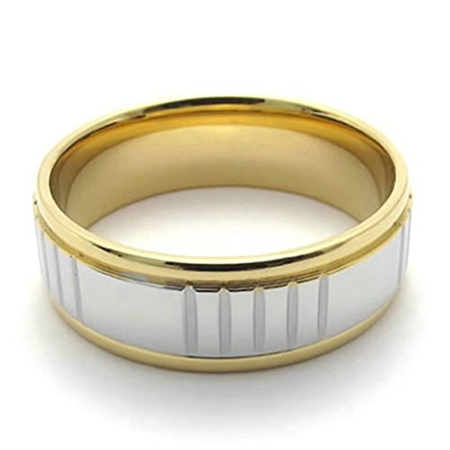 [Stainless Steel Ring for Men, Band Ring Ring Gothic Gold 22MM Size 13 Epinki] (Pyramid Head Costume Price)
