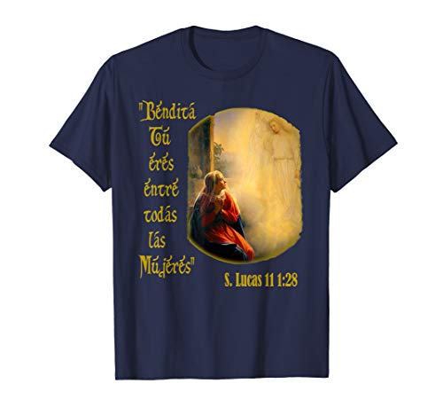 Virgin Mary T-Shirt Spanish Espanol Virgen Maria -