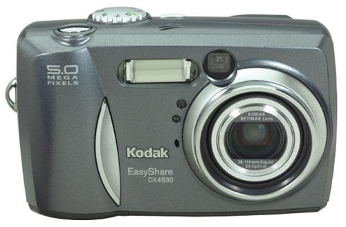 - Kodak EasyShare DX4530 5MP Digital Camera w/3x Optical Zoom