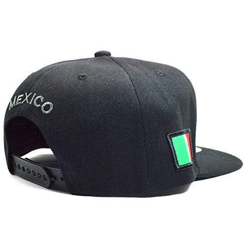 ab1fcba7afd634 AblessYo Mexican Hat Mexico Federal Embr Snapback Baseball Cap Flat Bill  AYO6028