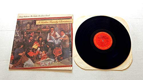 - Larry Gatlin & The Gatlin Brothers Band A Gatlin Family Christmas - Columbia Records 1982 - Used Vinyl Record - 1982 Pressing In Shrink Wrap - Sweet Baby Jesus - Messiah - Steps - Alleluia