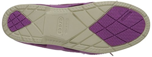 Beach Women's Wild Boat Crocs Line Orchid Stucco Hybrid Shoe qvnax7UB