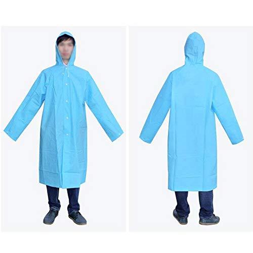 Aire Lluvia Libre Poncho Impermeable De Marca Blau La Para Montañista Mode Transparente Eva Chalecos Thicken Opcionales Portátil Bolawoo Adultos 3 Camina Al Que 8PqzzZ1cW