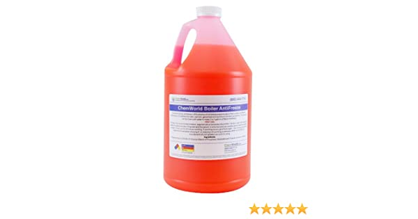 Chemworld Boiler Antifreeze Concentrate (95% Inhibted PG Pink) - 1 Gallon