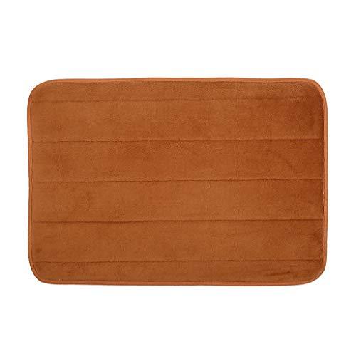 BODOAO Non-Slip Shower Mat Rug Absorbent Memory Foam Carpet Bath Bathroom Bedroom Floor Carpet