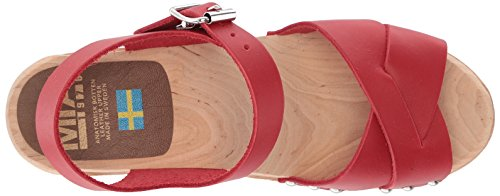 Mia Womens Gertrude Sabot Rouge