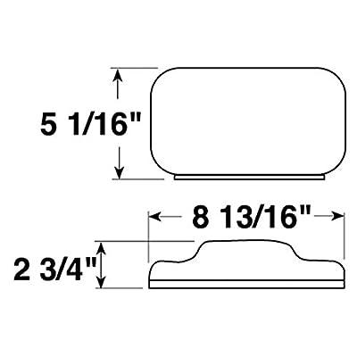 Peterson M457 457 Combination Tail Light - Without License Light: Automotive