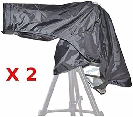 2x Jjc Regenschutzhülle Ri 9 Für Canon Und Nikon Dslr Kamera