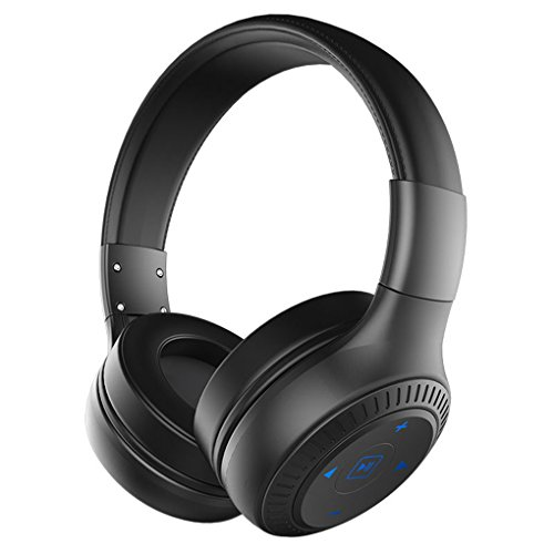 USB Noise Reduction Headset Foldable On-Ear Earphone Wireless Bluetooth Headphones With HD Sound Bass for ZEALOT B20