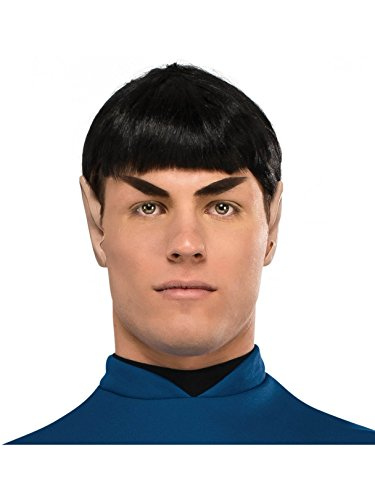 Rubie's Costume Co Men's Star Trek: Beyond Spock Wig, As Shown, One Size -