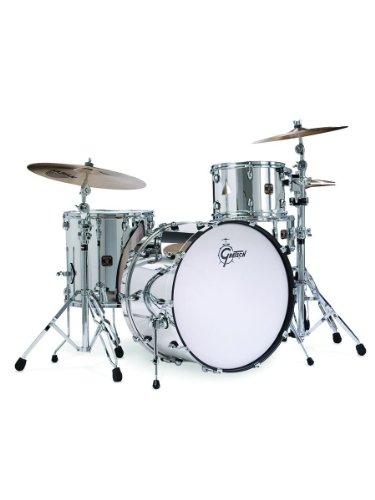 Club Drum (Gretsch Catalina Club Rock 4-Piece Drum Set Shell Pack - Mirror Chrome)