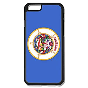 IPhone 6 Cases Blue Flag USA Minnesota State Design Hard Back Cover Cases Desgined By RRG2G