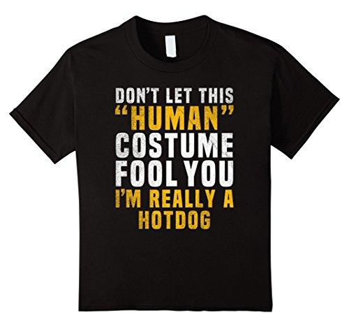 Meme Halloween Costume Ideas (Kids Hotdog Funny Halloween Shirt Popular Meme Easy Costume 10 Black)
